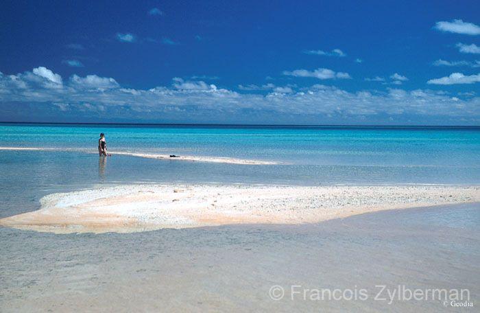 Pink sand lagoon